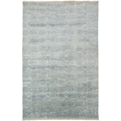 Harrisville Slate/Light Gray Area Rug Rug Size: 56 x 86