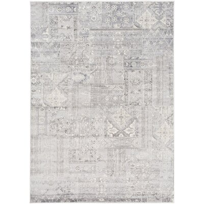 Hatboro Metallic/Gray Area Rug Rug Size: Rectangle 2 x 37