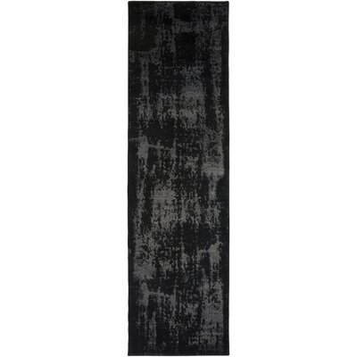 Hatboro Black/Neutral Area Rug Rug Size: Runner 23 x 71