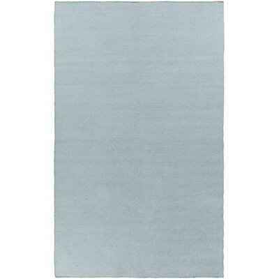 Jennievieb Hand-Woven Blue Indoor/Outdoor Area Rug Rug Size: Rectangle 5 x 76
