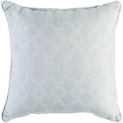 Hawthorn Indoor/Outdoor Throw Pillow Size: 20 H x 20 W x 4 D, Color: Seafoam