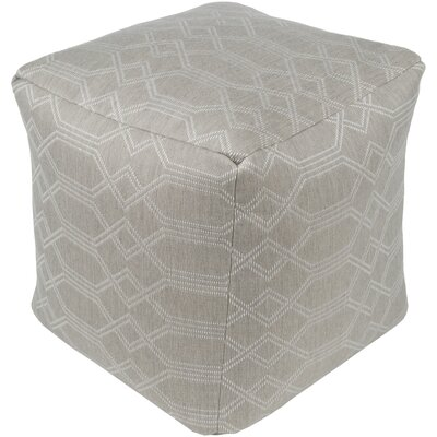 Hawthorn Pouf Upholstery: Medium Gray