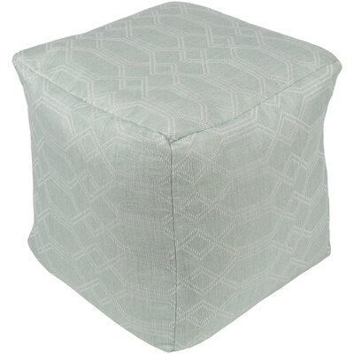 Hawthorn Pouf Upholstery: Aqua