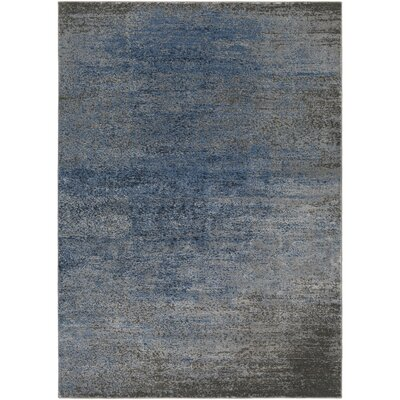 Hatboro Blue/Gray Area Rug Rug Size: Runner 23 x 71