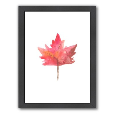 '1 Leaf' Framed Painting Print URBM9201 41064489
