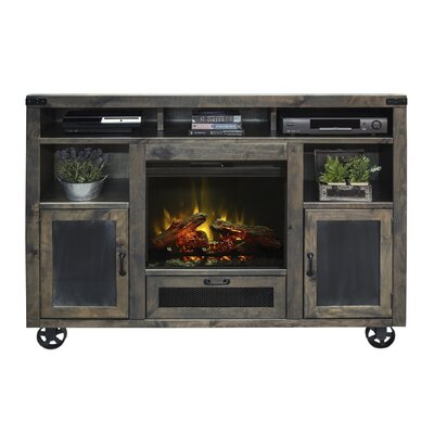 Narbonne 62 TV Stand with Fireplace
