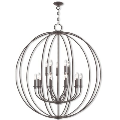Naomie 15-Light Globe Pendant Finish: Bronze