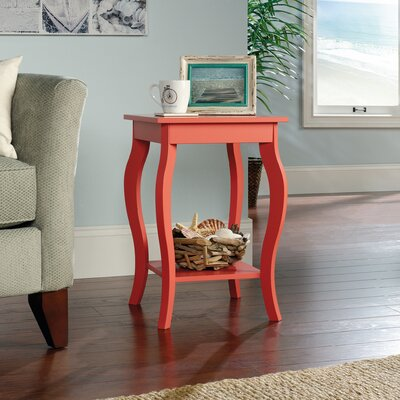 Nightingale Side Table Finish: Desert Coral