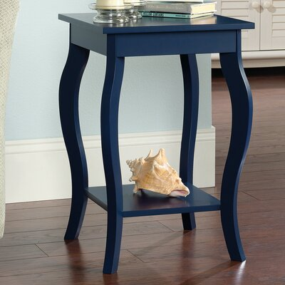 Joris End Table Color: Indigo Blue