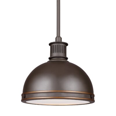 Orchard Hill Bowl Pendant Finish: Autumn Bronze