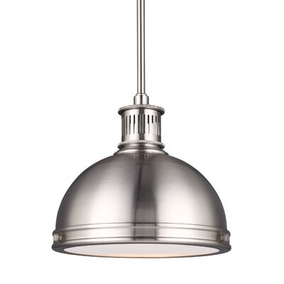 Orchard Hill Bowl Pendant Finish: Brushed Nickel