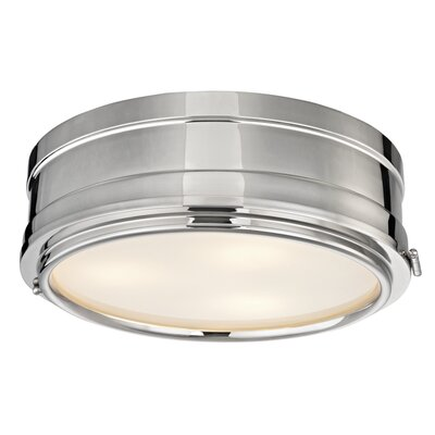 Kamini 3-Light Flush Mount Finish: Polished Nickel