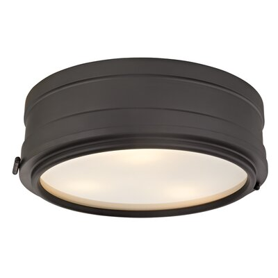 Kamini 3-Light Flush Mount Finish: Old Bronze