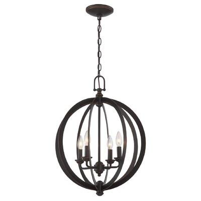 Jennette 4-Light Globe Pendant