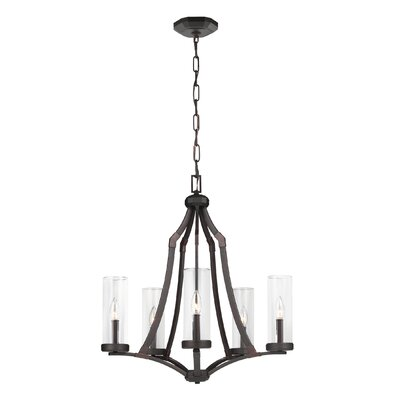 Renfroe 5-Light Candle-Style Chandelier