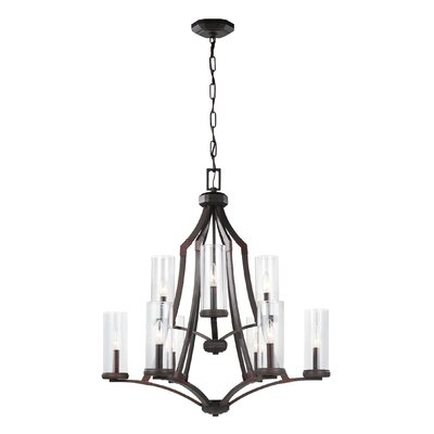 Renfroe 9-Light Candle-Style Chandelier