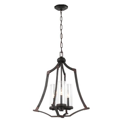 Renfroe 3-Light Foyer Pendant