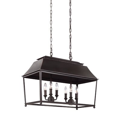 Darwin 6-Light Billiard Light Finish: Antique Copper