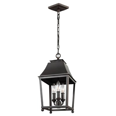 Darwin 3-Light Foyer Pendant Finish: Antique Copper