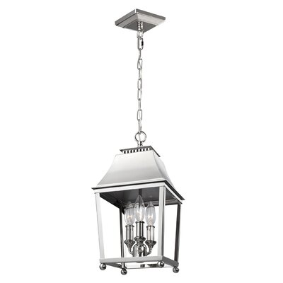 Darwin 3-Light Foyer Pendant Finish: Polished Nickel