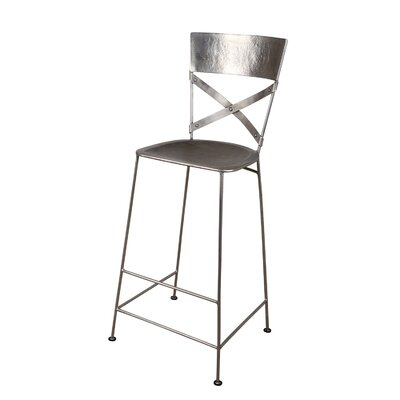 East Hope 30 Bar Stool Finish: Antique Nickel