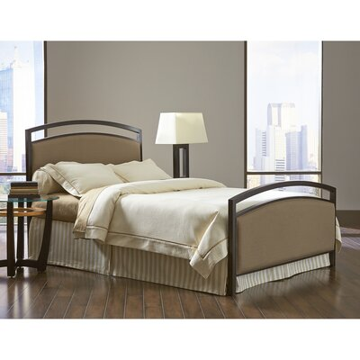 Odilion Upholstered Panel Bed Size: King
