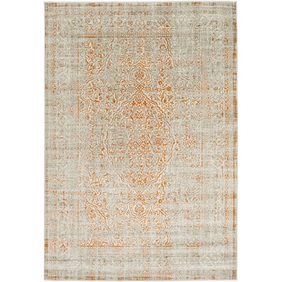 Nola Khaki Area Rug Rug size: 52 x 76