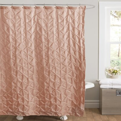 Noah Shower Curtain Color: Peach