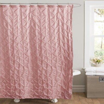 Noah Shower Curtain Color: Pink