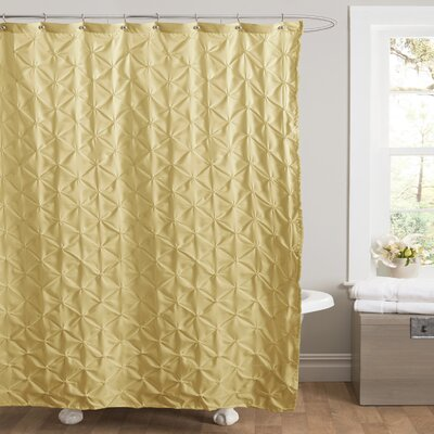 Noah Shower Curtain Color: Yellow