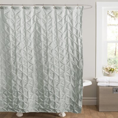 Noah Shower Curtain Color: Blue