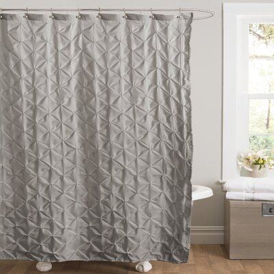 Noah Shower Curtain Color: Gray