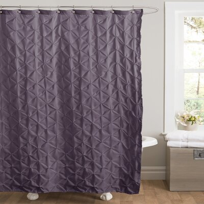 Noah Shower Curtain Color: Purple
