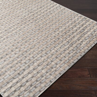 Hatboro Brown Area Rug Rug Size: Rectangle 53 x 73