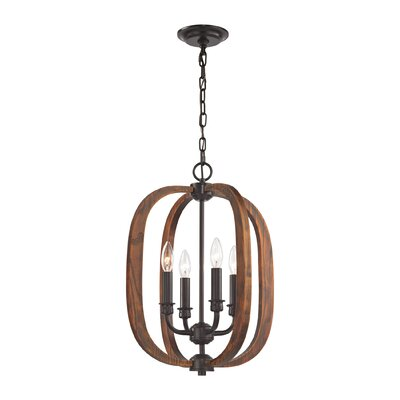 Kaiti 4-Light Mini Foyer Pendant