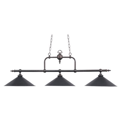 Barbi 3-Light Pool Table Light