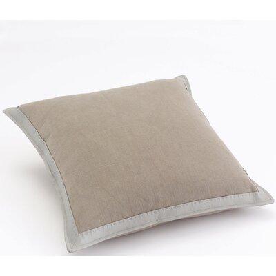 Fairburn Fine Frame Cotton Throw Pillow Color: Bark