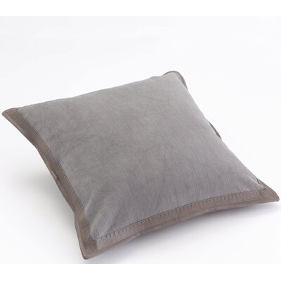 Fairburn Fine Frame Cotton Throw Pillow Color: Himmelblau