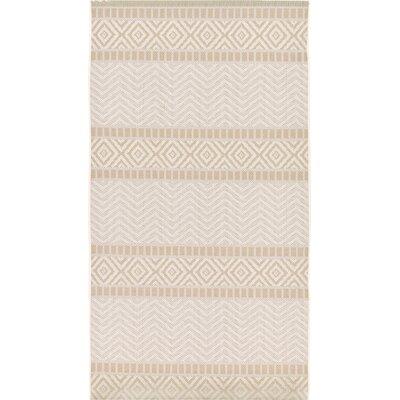 Hysham Beige Indoor/Outdoor Area Rug Rug Size: Runner 4 x 82