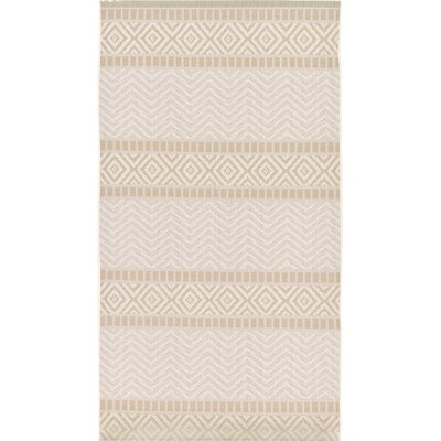 Hysham Beige Indoor/Outdoor Area Rug Rug Size: Runner 33 x 82