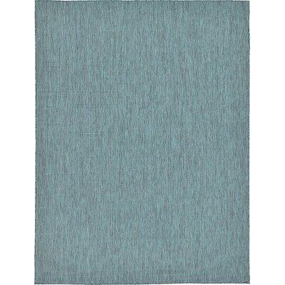 Ida Teal Area Rug Rug Size: 5' x 8'