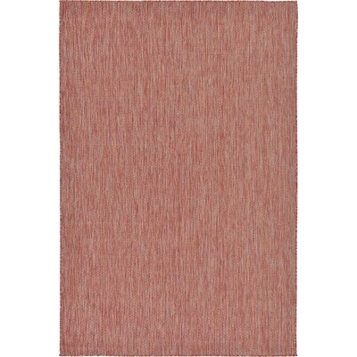Idaho Falls Rust Red Area Rug Rug Size: 6 x 9
