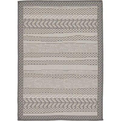 Iva Gray Area Rug Rug Size: 22 x 3