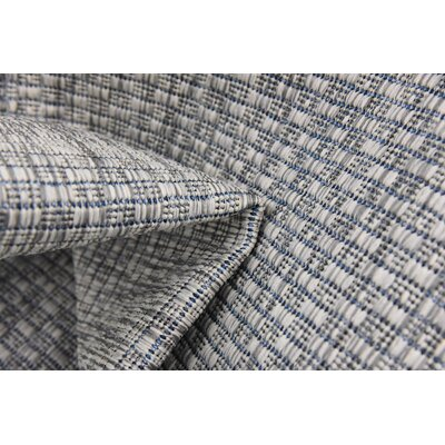 Jacklyn Light Gray Indoor/Outdoor Area Rug Rug Size: Rectangle 4 x 6