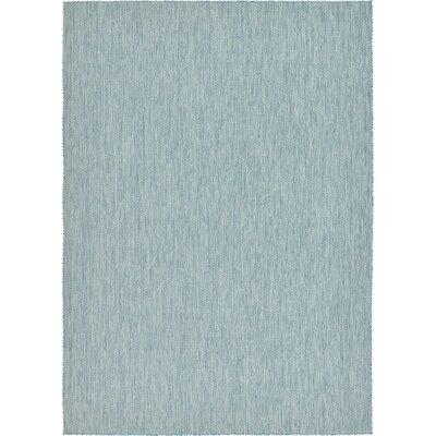 Janet Aquamarine Indoor/Outdoor Area Rug Rug Size: 8 x 114