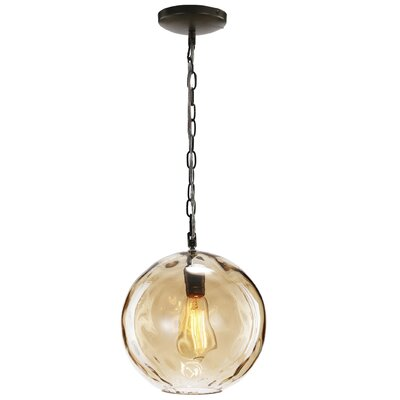 Levesque 1-Light Globe Pendant