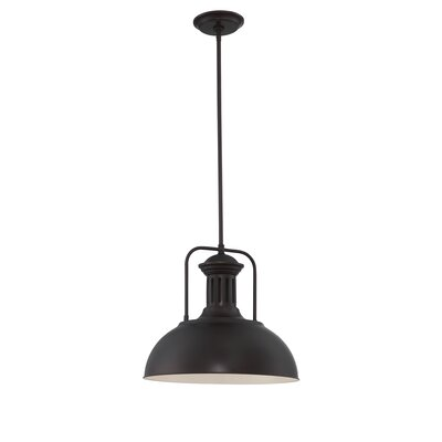 Cynitria 1-Light Metal Shade Mini Pendant