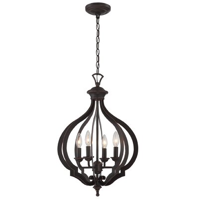 Catherine 4-Light Foyer Pendant