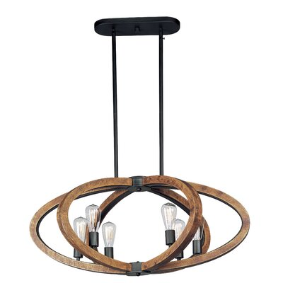 Orly 6-Light Foyer Pendant