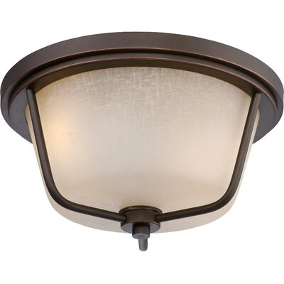 Bernville 2-Light Flush Mount
